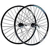 Wilkinson 250 / Deore Disc Hybrid '29er' Wheelset in Black