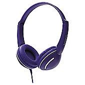 groov-e GV897VT Streetz Stereo Headphones - Violet