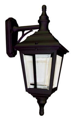 Elstead Lighting Kerry 1 Light Outdoor Wall Lantern in Black