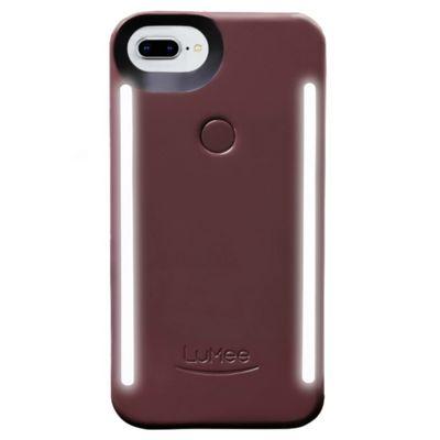 LuMee Duo LED Phone Selfie Case For iPhone 6+/6S+/7+/8+│LD-IP8P-PLM│Plum Noir