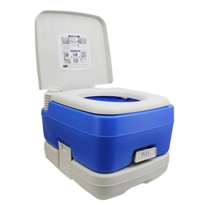 Buy Palm Springs 10 Litre Portable Toilet For Camping From