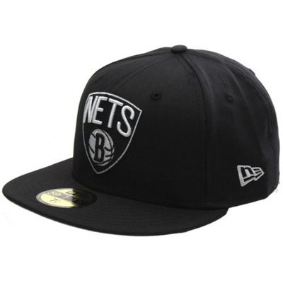New Era Cap Co Colden Fitted Cap - Brooklyn Nets Size: 7 1/4 inch