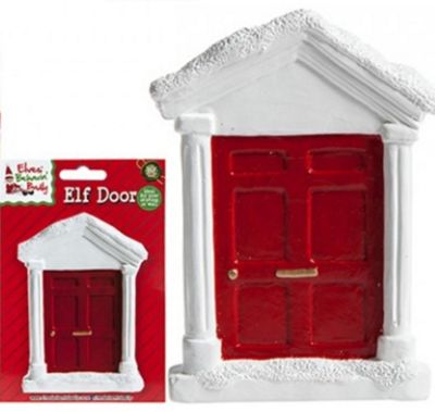 Elves Behavin' Badly - White Elf Door - 3.5