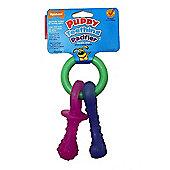Nylabone Puppy Teething Keys A Flexible Chew (S/Regular)