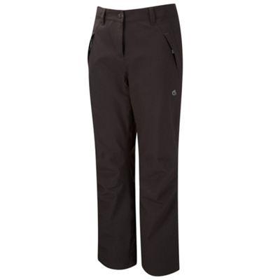Craghoppers Ladies Airedale Trousers Black 18 Long Leg