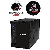 Netgear ReadyNAS RN212 2-Bay 8TB (2x4TB Seagate IronWolf) Media NAS Hub for Your Home