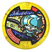 Yo-kai Watch Medal - Brave - Shogunyan (Bushinyan) [214] (Rare Gold Medal)