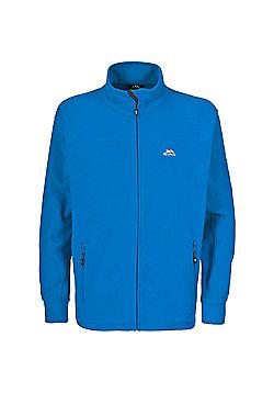 Trespass Mens Bernal Fleece Jacket Granite 3XL - Blue