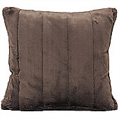 Riva Home Empress Taupe Soft Cushion Cover - 55x55cm