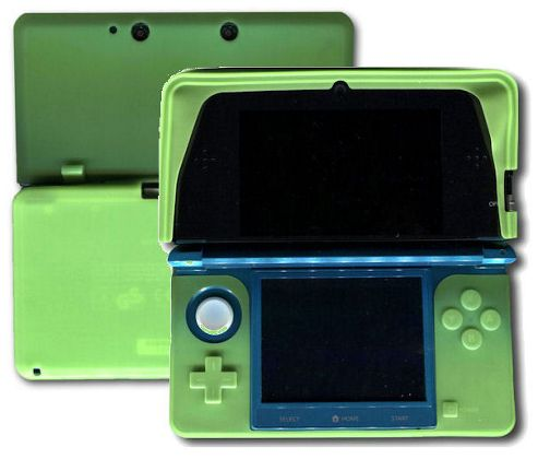 U-bop Stamp WIPE and Bold FLEX Flexible Body Skin Case Yellow - For Nintendo 3DS - 3D Console