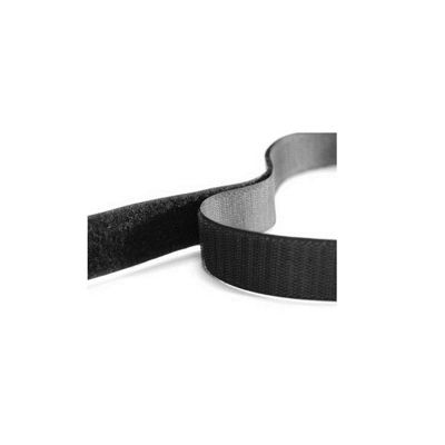Hemline Self Stick Hook and Loop Tape Value Pack Black