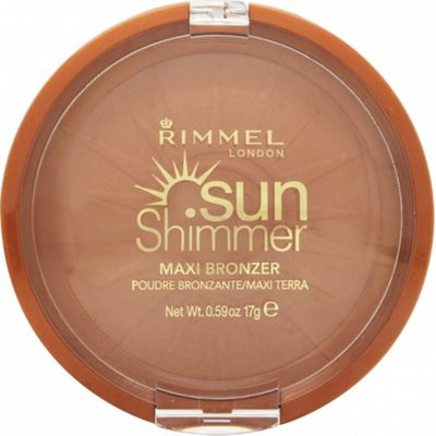 Rimmel Sun Shimmer Maxi Bronzer Bronzing Powder 17g - 002 Sun Love