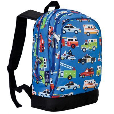 Kids' Backpacks- Action Vehicles