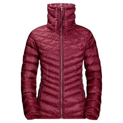 Jack Wolfskin Ladies Richmond Hill Jacket Dark Red XL