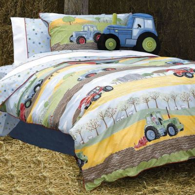 Buy Field Days, Tractor Toddler Bedding - 100% cotton from ...