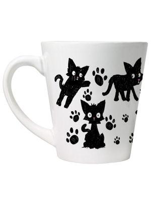Scaredy Cat Latte Mug