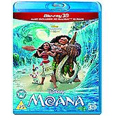 Disney's Moana - 3D Blu-ray