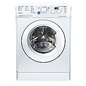 Indesit Innex Washing Machine, BWD 71453 W UK, 7kg, 1400rpm - White