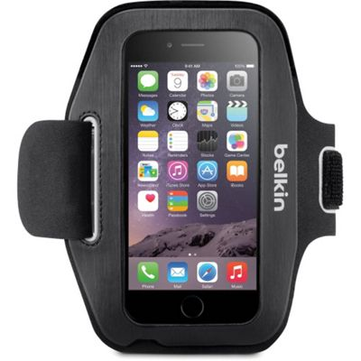 Belkin Sport-Fit Carrying Case (Armband) for iPhone - Blacktop, Overcast