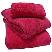 Luxury Egyptian Cotton Bath Towel - Fuchsia