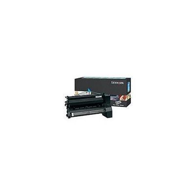 Lexmark C780, C782 Return Programme Print Cartridge (10K) - Cyan