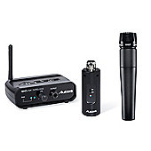 Shure SM57 Alesis MicLink Wireless - Wireless Dynamic Microphone Pack