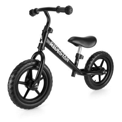 RideStar Balance Bike - Matte Black