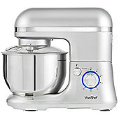 VonShef 650W Electric Food Stand Mixer Silver