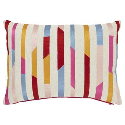 buy tesco cuba stripe cushion from our cushions range tesco. Black Bedroom Furniture Sets. Home Design Ideas