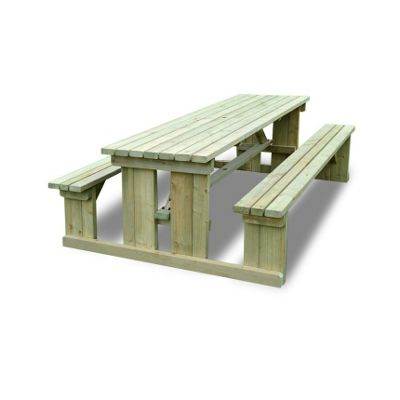 Tinwell Picnic Bench - 7ft