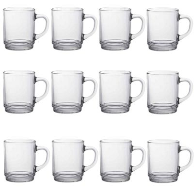 Duralex Versailles Coffee / Tea Hot Drinks Mug - 260ml - x12