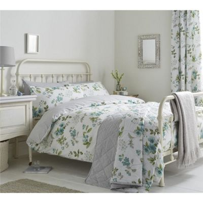 Dreams n Drapes Lorena Green Duvet Cover Set - Single