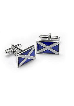 Scottish Flag Novelty Themed Cufflinks