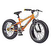 "2015 Coyote Fatman Fat Bike 20"" x 4"" Neon Orange/Matt Black"
