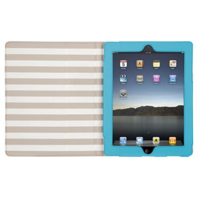 Griffin Cabana Folio Case for Apple iPad 3/iPad 2 - Blue