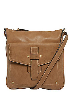 F&F Distressed Cross-Body Bag