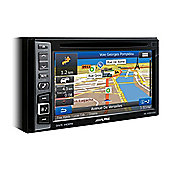 Alpine In Car Stereo +GPS SatNav│Bluetooth│USB│Aux│iPod-iPhone-Android│INE W990HDMI