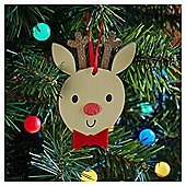 Reindeer Character Christmas Tree Decoration