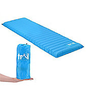 Trail Compact Single Camping Mat - Blue