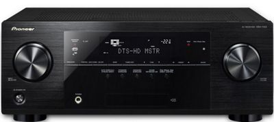 PIONEER VSX1122 NETWORKED 3D READY HOME CINEMA RECEIVER WITH AIRPLAY (BLACK)