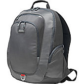 """Dicota Carrying Case (Backpack) for 39.6 cm (15.6"""") Notebook, Accessories, Eyeglasses, Pen, Cellular Phone, Tablet, iPad - Light Grey"""