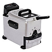 Tefal-FR701640 OleoClean Compact Deep Fat Fryer with 0.8kg Food Capacity and Variable Temperature