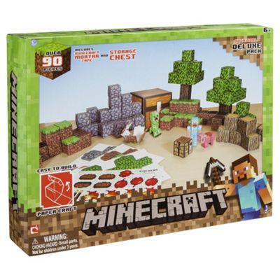 Minecraft Papercraft Overworld Set