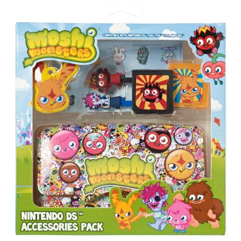 Moshi- 7in1 Accessory Pack (Boys Characters) - 3DS/DS