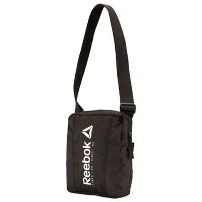 Reebok Foundation City Small Item Man Bag - Black