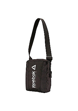 Reebok Foundation City Small Item Man Bag - Black