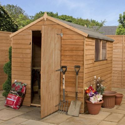 Mercia Budget Overlap Apex Shed, 8x6ft