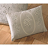 Dreams n Drapes Malton Boudoir Cushion Cover - Slate 38x28cm