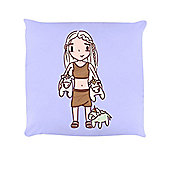Mother Of Unicorns - Standing 40x40cm Lilac Cushion