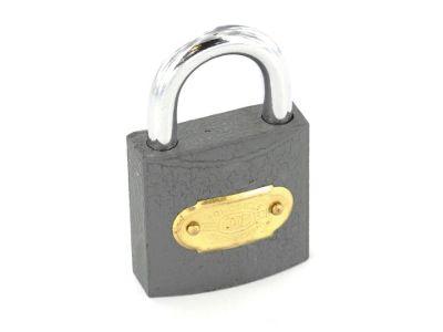 Securit S1123 Tri Iron Padlock Brass Cylinder 63mm